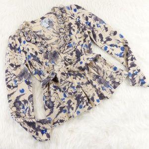 Tabitha Bud, Blossom & Blue Cardigan Sweater
